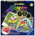 Ravensburger Mixxy Colors Wasserfarben Glow Edition 2er Set Bunte Vogelpärchen 27690