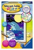 Ravensburger Malen nach Zahlen Classic Serie F Kleiner Delfin 27694
