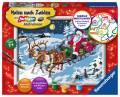 Ravensburger Malen nach Zahlen Classic Serie D Frohe Weihnachten 27776