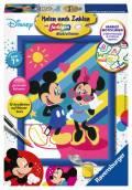 Ravensburger Malen nach Zahlen Classic Sonderserie E Disney Mickey & Minnie 27788