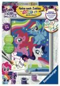 Ravensburger Malen nach Zahlen Classic Sonderserie E My Little Pony Magie der Freundschaft 27834
