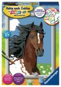 Ravensburger Malen nach Zahlen Classic Serie E Pferdeportrait 28063