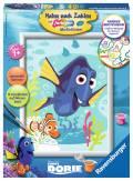 Ravensburger Malen nach Zahlen Classic Serie D Character Disney Pixar Findet Dory und Nemo 28323