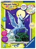 Ravensburger Malen nach Zahlen Classic Serie D Pferde Pegasus im Mondschein 28489