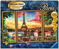 Ravensburger Malen nach Zahlen Premium Serie A Im Herzen von Paris 28495