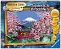 Ravensburger Malen nach Zahlen Premium Serie B Japanische Kirschblüte 28841