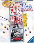 Ravensburger Malen nach Zahlen Trend Serie A Paris je t'aime 28974