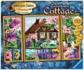 Ravensburger Malen nach Zahlen Premium Serie A Zauberhaftes Cottage 28982