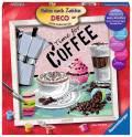Ravensburger Malen nach Zahlen Serie Deco Coffee 29013