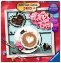 Ravensburger Malen nach Zahlen Serie Deco Kaffeeliebe 29020