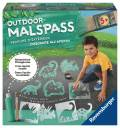 Ravensburger Creation Outdoor Malspass Flüssigkreide Set Dinos 29088