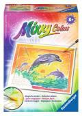 Ravensburger Mixxy Colors Wasserfarben Mini Spielende Delfine 29108