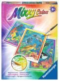 Ravensburger Mixxy Colors Wasserfarben Midi 3er Set Bunte Unterwasserwelt 29349