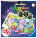 Ravensburger Mixxy Colors Wasserfarben Glow Edition 2er Set Bunte Ponys 29352