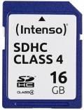 Intenso SDHC Karte 16GB Speicherkarte Class 4 bulk