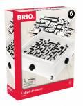 Brio Familienspiele Geschicklichkeitsspiel Labyrinth und Boards weiß 5 Teile 34050