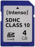 Intenso SDHC Karte 4GB Speicherkarte Class 10 bulk