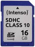 Intenso SDHC Karte 16GB Speicherkarte Class 10 bulk