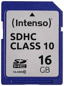 Intenso SDHC Karte 16GB Speicherkarte Class 10 - Bild vergrößern