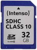 Intenso SDHC Karte 32GB Speicherkarte Class 10 bulk