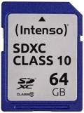 Intenso SDXC Karte 64GB Speicherkarte Class 10 bulk