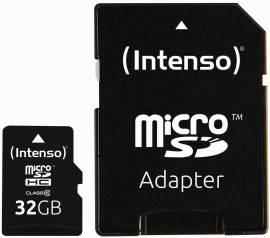 Intenso Micro SDHC Karte 32GB Speicherkarte Class 10 - Bild vergrößern
