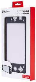 Bigben Nintendo Switch Lite Schutzhülle Silikon Glove Case grau BB380347