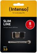 Intenso USB Stick 8GB Speicherstick Slim Line USB 3.0