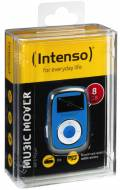 Intenso MP3 Player Music Mover 8GB 1 Zoll Display Clip Funktion blau