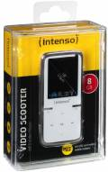 Intenso MP3 Player Video Scooter 8GB 1,8 Zoll Display weiß