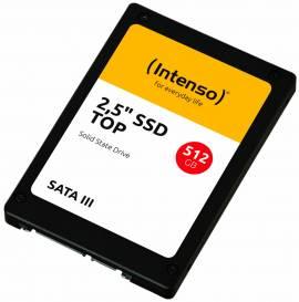 Intenso SSD interne Festplatte Top High-Speed 3D Nand 2,5 Zoll 512GB SATA III - Bild vergrößern