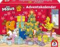 Schmidt Spiele Adventskalender Die Maus ab 5 Jahre 40614