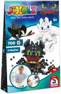 700 Teile Schmidt Spiele Kinder JiXelz Dragons 2 Motive 46131