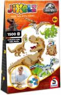 1500 Teile Schmidt Spiele Kinder JiXelz Jurassic World 4 Motive / 1 XXL 46132
