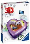 54 Teile Ravensburger 3D Puzzle Herzschatulle Pferd 11171