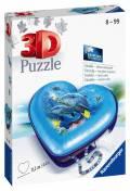 54 Teile Ravensburger 3D Puzzle Herzschatulle Unterwasserwelt 11172