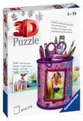 54 Teile Ravensburger 3D Puzzle Utensilo Pferde 11175
