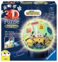 72 Teile Ravensburger 3D Puzzle Ball Nachtlicht Minions 11180