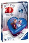 54 Teile Ravensburger 3D Puzzle Herzschatulle Disney Frozen 2 11236