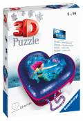 54 Teile Ravensburger 3D Puzzle Herzschatulle Bezaubernde Meerjungfrau 11249