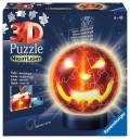 72 Teile Ravensburger 3D Puzzle Ball Nachtlicht Kürbiskopf 11253