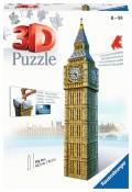 216 Teile Ravensburger 3D Puzzle Bauwerk Big Ben 12554