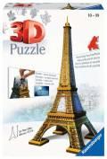 216 Teile Ravensburger 3D Puzzle Bauwerk Eiffelturm 12556