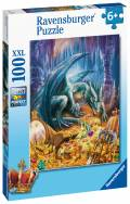 100 Teile Ravensburger Kinder Puzzle XXL Der Höhlendrache 12940