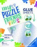 Ravensburger My Puzzle Friends Glue Sheets Klebestreifen für Kinder Puzzle 13301