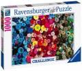 1000 Teile Ravensburger Puzzle Challenge Buttons Knöpfe 16563