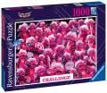 1000 Teile Ravensburger Puzzle Challenge Monsterchen 16771