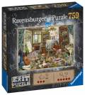 759 Teile Ravensburger Puzzle Exit Das Künstleratelier 16782