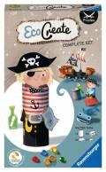 Ravensburger Upcycling Basteln EcoCreate Mini Pirates Piraten 18130