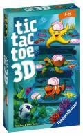 Ravensburger Mitbringspiel Strategiespiel Tic Tac Toe 3D 20544